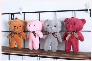 الجملة الأكثر مبيعا 4-لون 13 سم الملتصقة العملاق الدب قلادة أفخم لعب التوصيل المجاني