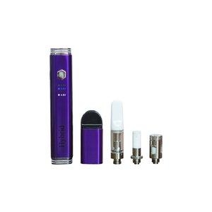 Best Seller Wax Pen OEM begrüßt Lila Dab Vape Kit mit 510 Gewinde Oil Cartridge Customized Öl Vaporizer