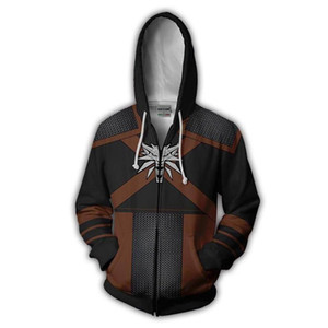 2019 new Hoodies Sweatshirts Coat Hoodies Costume Legion Clothing Deadpool Zip Up Hoodie 3D printed Zipper tops