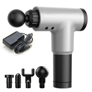 Fitness home electric fascia gun massage gun muscle relaxer massager impact gun movement recovery fascia grab