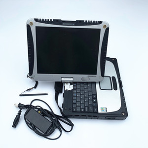CF19 Toughbook Laptop da 4 GB con HDD da 500 GB Lavoro militare per mb star c4 c5 C6 strumento diagnostico alldata