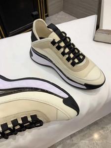 """2019 europäischen und amerikanischen Frauen Designer-Schuhe luxuriöse """"white schwarze nackte 3 Farbabmusterung Schuhe Sportschuhe Damenmode Freizeitschuh"""