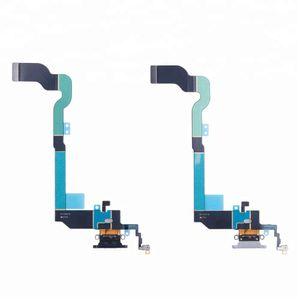 Per iPhone X iPhone 8 8 Plus Porta per ricarica Dati caricabatterie Connettore dock USB con cavo flessibile per jack audio per cuffie