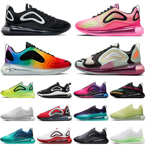 Nike Air Max 720 airmax 2020 Top Fashion New Pink Blast Total Eclipse Stock X Coussins Chaussures de course Blanc Volt BE TRUE Hommes Femmes Designer Sneakers Baskets 36-45