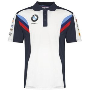 BMW Motorrad T-shirt New POLO Short T Casual Wear Racing T-shirt à séchage rapide à manches courtes Casual