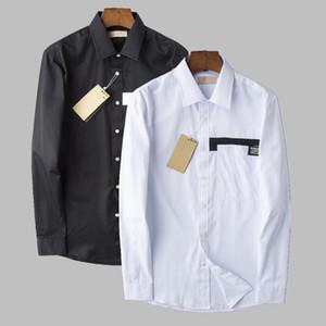 camicie da sera mens del progettista di marca italiana classica reticolo camicia di lusso casuali del pattino T shirte alfabeto stampa hip hop Streetwear camicie