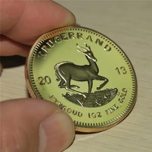무료 배송, 2013 South African Krugerrand 금괴 1 oz 금화, 기념품 금속 동전, 고품질