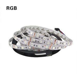 12 فولت للماء 5050 SMD LED قطاع الخفيفة 5M 12V LEDStrip مصباح الشريط RGB RGBW RGBWW أصفر وردي الثلج الأزرق ديود الشريط Fleible