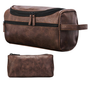 Toilet Package Portable Bags Fashion Makeup Package Bags Outdoor Travelling Storage Bags Function Waterproof Leatherwear Bag