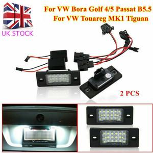Pour Bora Golf Passat B5.5 3BG Touareg MK1 Led Tiguan plaque d'immatriculation Lumières au Royaume-Uni