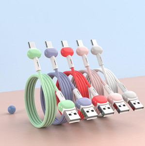 Liquid charge Cable For Samsung Android Fast Charging Magnet Charger Micro USB Type C Cable Mobile Phone Cord Wire