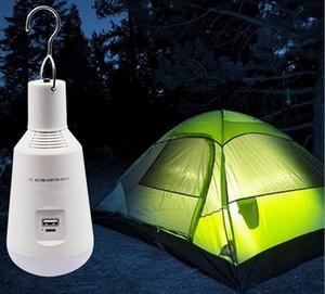 7 W Taşınabilir LED Ampul Güneş Enerjisi Polysilicon Bahçe Lambası LED Aydınlatma Güneş Paneli Işık Açık Kamp Yürüyüş LED Ampuller LLFA