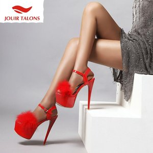 20202 Dropship grande taille 48 Fétiche Thin Sexy SM Talons plateforme d'été Femmes Chaussures Femme Sandales