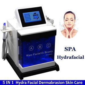 Hydra Water Máquina de dermoabrasión Corea Mejora la textura de la piel Tono de la piel Equilibrio Ultrasónico Bio Rf Reparación de hielo Bloqueo Nutriciones Sedación Piel