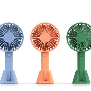 Новый VH бренд Портативный ручной вентилятор низкий уровень шума с заряжаемой встроенной батареей USB-порт дизайн удобный мини-вентилятор 3 уровня ветра