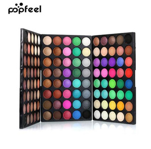 POPFEEL 120 Colors Gliltter Eyeshadow Palette Matte Eye Shadow Pallete Shine Nude Make Up Palette Set Kit Cosmetic