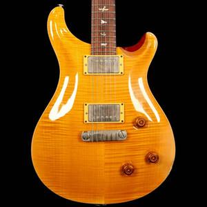 Rara personalizada 22 10 Guitarra eléctrica superior amarillo ráfaga de Reed Smith 22 trastes de la guitarra