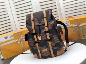 CHRISTOPHER ZAINO nuovo stilista di grande capienza un'escursione zaino Studente di scuola Daypack Laptop Bag Bookbag Zaino Zaino Hekking