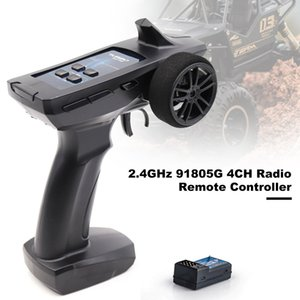 For TURBO 91805G 4CH Radio Transmitter Controller 2.4GHz Remote Control Receiver For RC Drone Car Boat