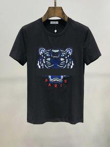Ins Hot 20ss Spring Summer American Unisex Bandana tiger Skateboard Mens designer t shirt Women Men Casual t-shirt good mens Tshirt ht02