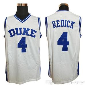 Mens Cheap Basketball Jerseys #32 Christian Laettner Jersey 4 J.J Redick JJ University DUKES Stitched Basketball Shirts