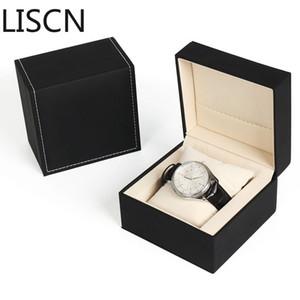 2019 New Luxury Violazione design Bocca aperta PU 1 griglia di vigilanza di marchio di modo di caso all'ingrosso / al minuto Crea orologi regalo Box LISCN