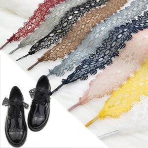 Zapatos 1 par Cordones los Off White colorido cielo abierto del cordón zapatilla de deporte Casuals Cordón Piel cordones 3 cm ancho 80/100 / 120cm Longitud cordones de los zapatos