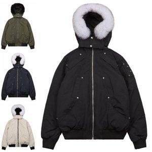 Modanın MAN Tasarımcı Casual Kapşonlu Aşağı Ceket Lüks moda Kış Ceket Kamuflaj siyah Kış Down Kaban Ceket