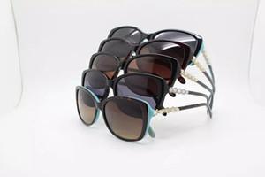 TF4103 Elegante Damen-Sonnenbrille in Markenqualität, UV400, exqusite Dekorationsrahmen 57-17-140 mit freeshipping Full-Set-Gehäuse