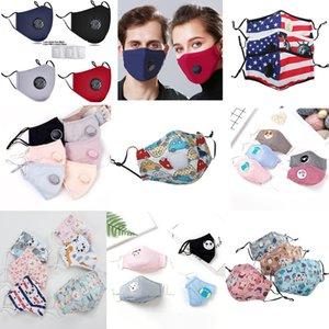 enfants de ppe réutilisables lavables masques Masque Masques visage anti-poussière brouillard bouche de poussière respirant et lavable masques design unisexe 2020
