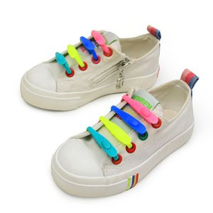 1PCS New Elastic Silicone ShoeLaces 1 Second Quick No Tie Shoe laces Kids Adult Unisex Sneakers Shoelace Lazy Laces