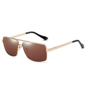 Acessórios de moda para casa Óculos de sol Detalhe do Produto Homens óculos de sol de alta qualidade designer óculos de sol atitude logotipo quadrado na lente dos homens