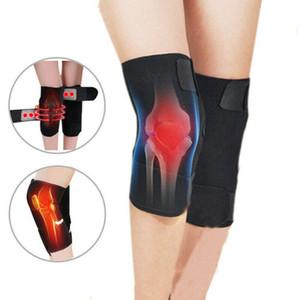 Salud turmalina Auto Calefacción rodillera magnética de la rodilla Terapia de correa de soporte Brace