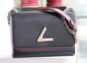 Venta caliente Fashion Lady Messenger Bag de alta calidad Cuero genuino para mujer Bolso de mezclilla Bolsos de hombro