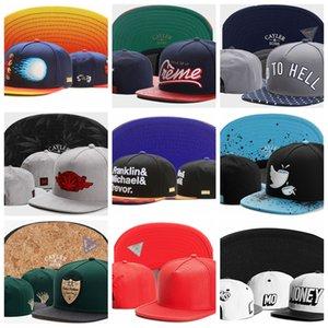 Cayler Sons Snapback Caps Fuckin Problems CSBL cuero dinero gorras huesos hombres mujeres hip hop Hip Hop Sombreros Béisbol hueso