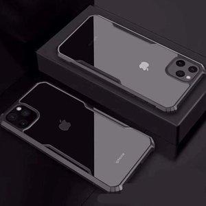 Четырехугольный анти-осенний рукав акриловый жесткий чехол чехлы для мобильных телефонов Apple iphone11 XR XS Fitted Case