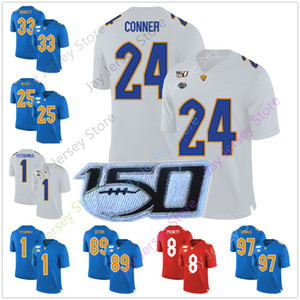 Pittsburgh University College Football Jersey Tony Dorsett Mike Ditka LeSean McCoy Larry Fitzgerald James Conner Aaron Donald