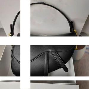 2020 유명한 여성 핸드백 새로운 편지 어깨 가방 고품질의 가죽 메신저 가방 가죽 안장 가방, 상자가 발언을 필요로