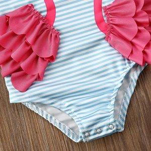 Kid Girl Children One-Piece Swimsuit Bikini Swimwear Bathing Suit Beachwear