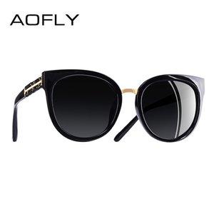 Aofly diseño de marca hecho a mano de lujo ojo de gato gafas de sol para mujeres gafas de sol polarizadas gafas Uv400 A138 Y19052004