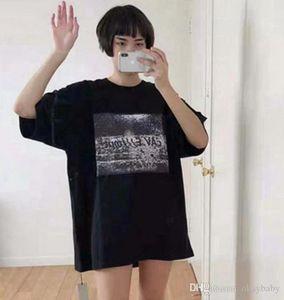 Hombre de las camisetas AR C.E DISGUISE nueva marea cyberpunk japonés de manga corta floja Pareja de verano te ocasional