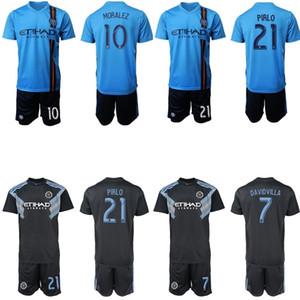 Nova 2019 2020 new york city adulto kit de futebol fc 19 20 DAVID VILLA LAMPARD MORALEZ MATARRITA PIRLO casa longe camisa de futebol Jersey