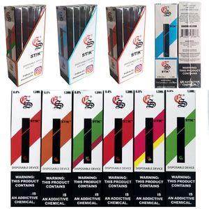 Eon Stik одноразовые устройства стручки стартовые наборы пустая вейп ручка 1.3 мл картриджи 280 мАч батарея EON Stik одноразовые стручки DHL