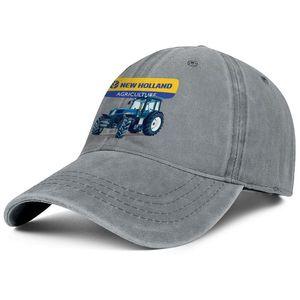 Yıl Unisex kot beysbol şapkası Of New Holland Agriculyure Makinası özel New Holland Vintage eski çiftlik hasat klasik şapka soğutmak