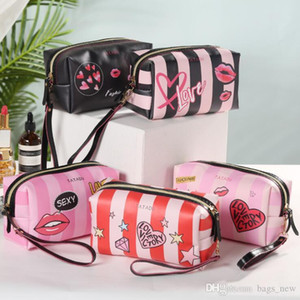 Sacs imperméables Laser cosmétiques Make Up Bag Femmes de haute qualité PVC Pochette de lavage Sac de toilette Organisateur Voyage Livraison gratuite