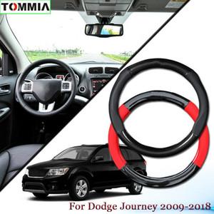 Kaymaz Karbon Elyaf Deri Araç Direksiyon Kapak İçin Dodge Journey 2009+