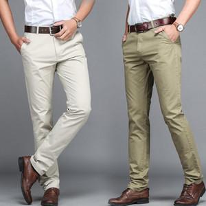 Мужские брюки высокое качество костюм Trosuer мужчины платье мужчины деловые брюки офис повседневные социальные мужские классические брюки