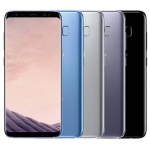 Original Refurbished Samsung Galaxy S8 G950F G950U 5,8 Zoll Octa-Core 4 GB RAM 64 GB ROM 12MP 3000mAh 4G LTE intelligentes Telefon-frei DHL5pcs