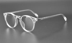 OV5256 Montatura per occhiali rotonda vintage Donna oliver Sir O'malley Occhiali da vista da uomo in vetro ottico Montatura per occhiali Montatura per occhiali