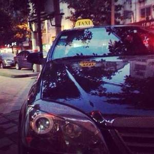 CAR Yellow Taxi Cab Roof Top Segno della luce della lampada magnetico di grandi dimensioni spie auto veicolo